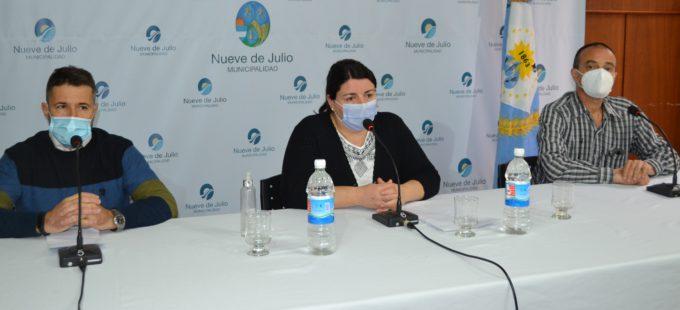 Mignes, Pirotta y Zapata este lunes en conferencia de prensa
