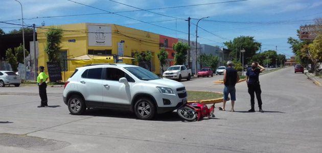Accidente de Vedia y Avellaneda esta mañana-foto Diario El 9 de Julio
