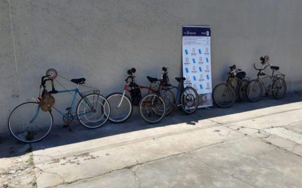 Bicicletas secuestradas