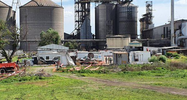 Planta de Cofco en Saforcada, partido de Junin donde se produjo el lamentable hecho