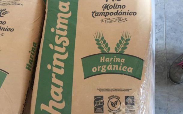 harina organica