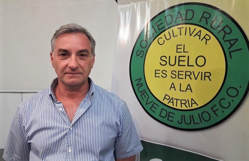 Fernando Mato es el nuevo presidente de Sociedad Rural de 9 de Julio