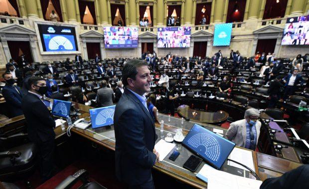 Sergio Massa, presidente Camara de Diputados de Nacion