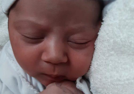 Justina, la primera bebe del 2021