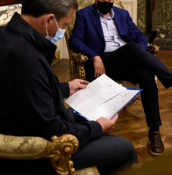Massa este miercoles junto al Ministro Ferraresi