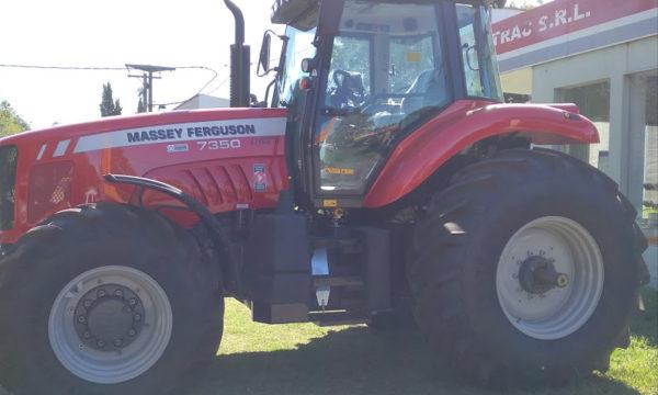 Tractor MF 7350 vendido por Pillmayquen de Boufflet hnos, sub agente Agro Trac SRL