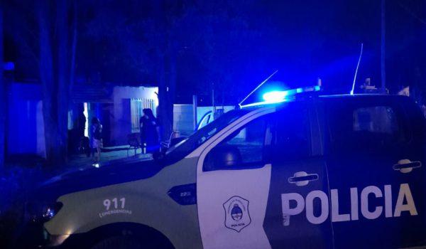 Uno de los allanamientos realizado por policia