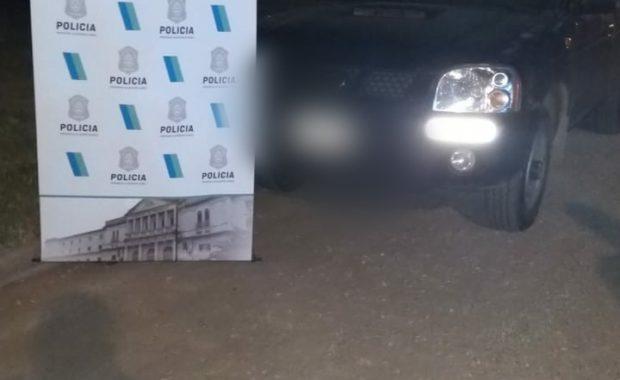 Vehiculo secuestrado