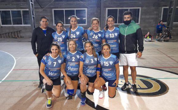Equipo Femenino de Voley de San Martin en MDQ
