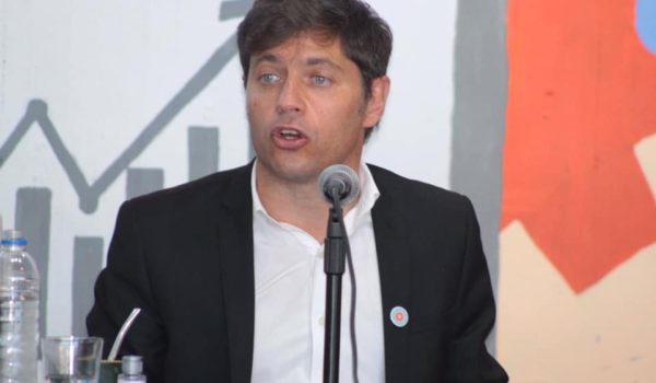 Gobernador de Buenos Aires AxelKicillof en Pehuajo