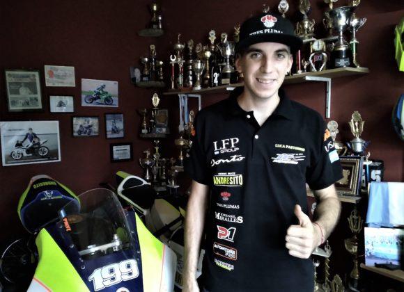 Luca Pastorino emprendio el desafio para participar en el Centro Americano de Motos
