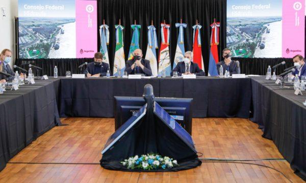 Reuninon del Consejo de Hidrovia presidida por Marino Meoni