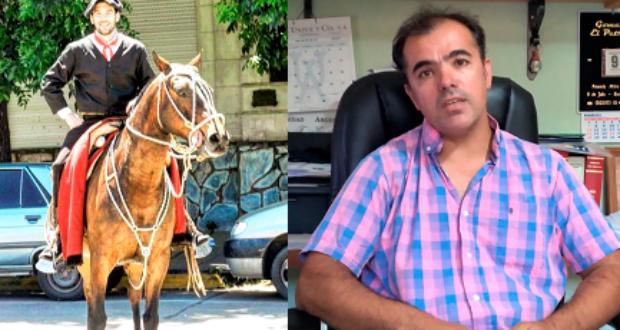 Martin Pereyra y Diego Aguilar emprenden una travesia de 250 kms a monta de caballo