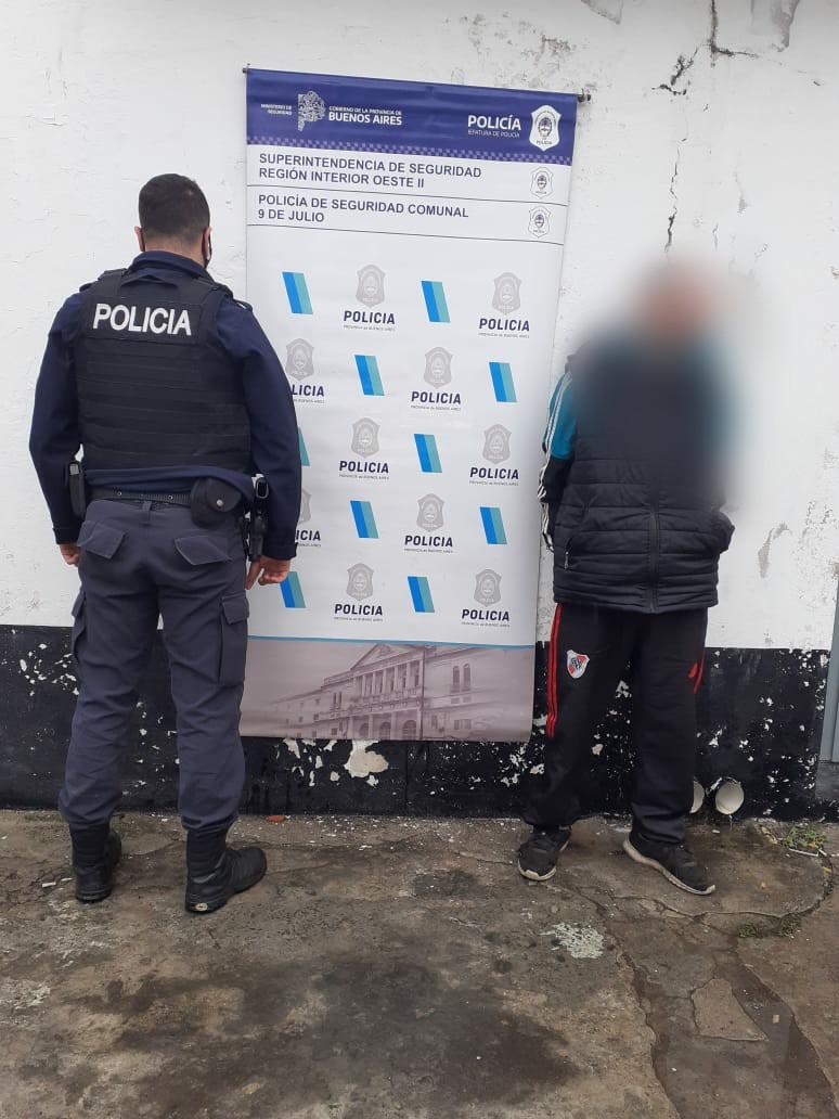 persona detenida