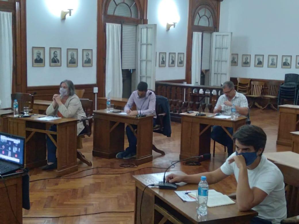 Imgaen de la ultima sesion legislativa del Concejo Deliberante de 9 de Julio